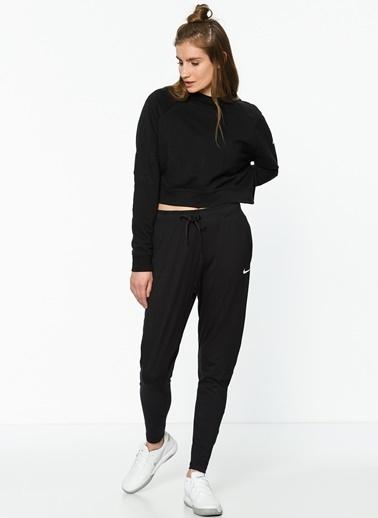 Nike Kısa Sweatshirt Siyah